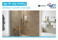 Request a baths and showers brochure