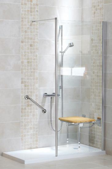 Easy Access Shower From Age UK Mobility