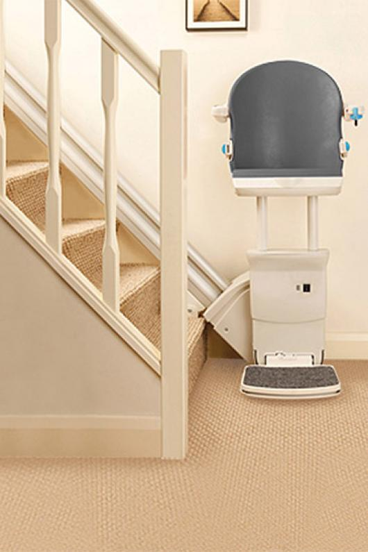 Perch Stairlift | Standing Straight Stairlifts | Perch Seat