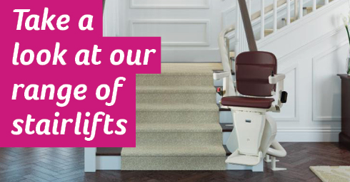 Take a look at our range of stairlifts